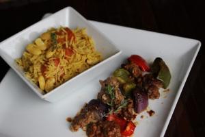 Ghana and Chichinga with African rice