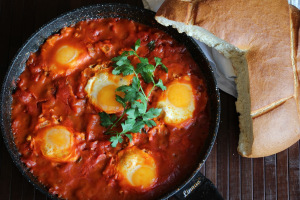 Israel and Shakshuka