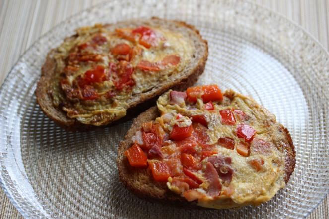 Omelette Tartine