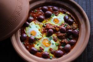 Morocco and Kefta Tajine