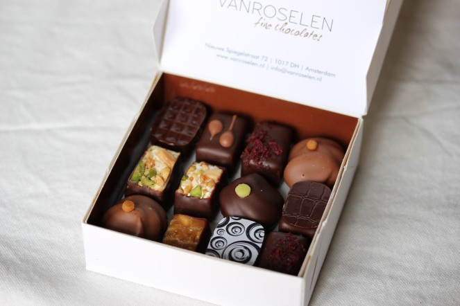 Van Roselen - a must in Amsterdam if you like chocolates