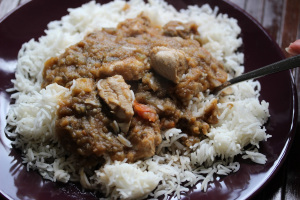 Sierra Leone and Meat stew