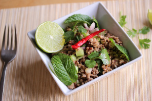 Thailand and Larb moo