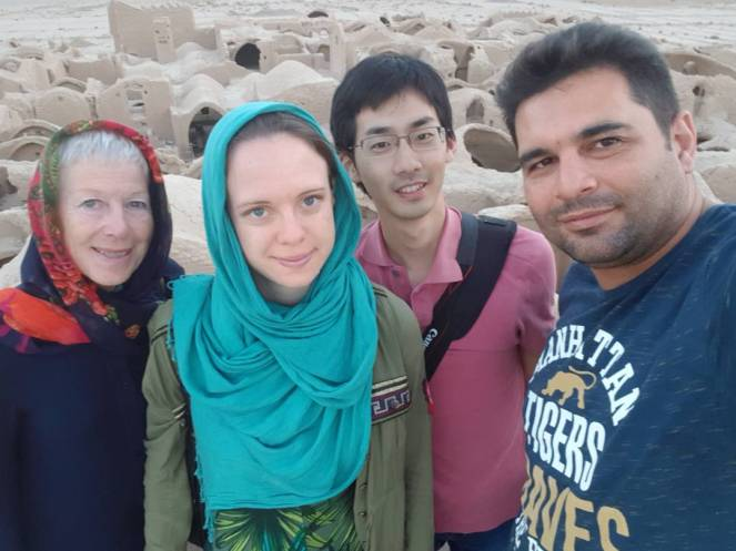 Us in Sar Yazd
