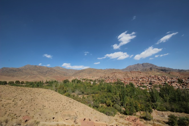 Abyaneh and its mountains