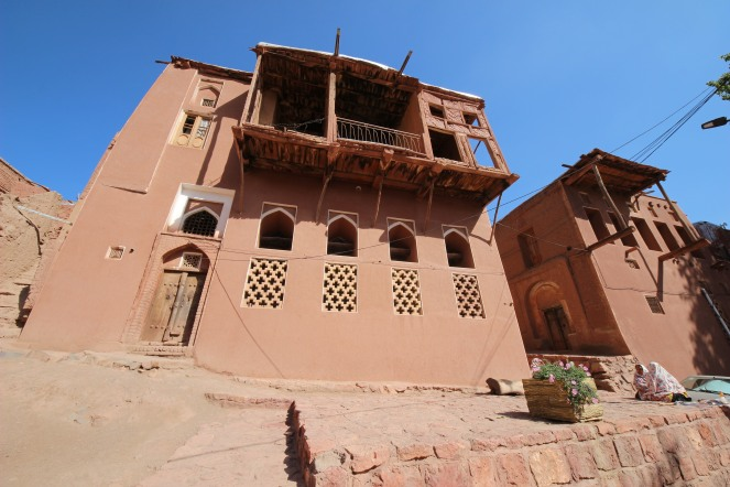 a traditional house in Abyaneh