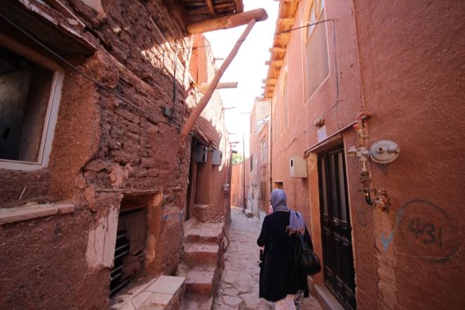 me in Abyaneh