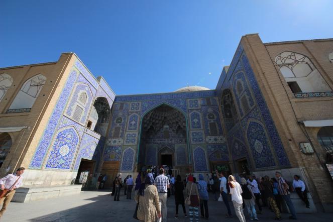 sheikh lotfollah mosque front