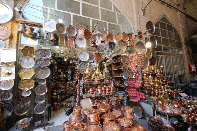 copperware in Esfahan