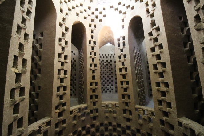 bird tower interior