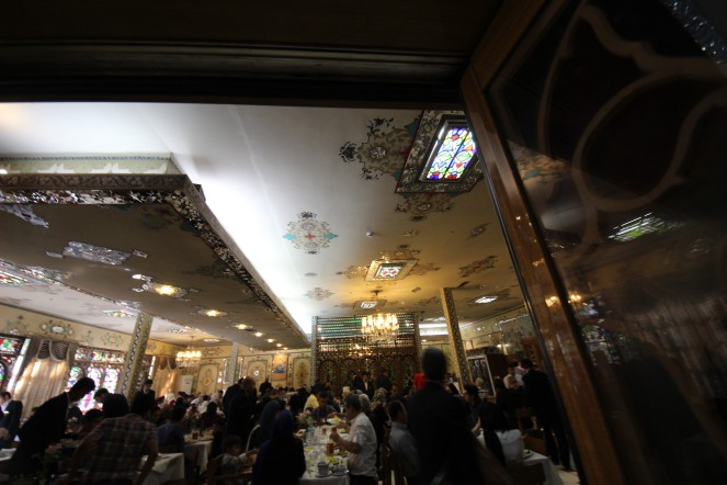Shahrzad Restaurant interior