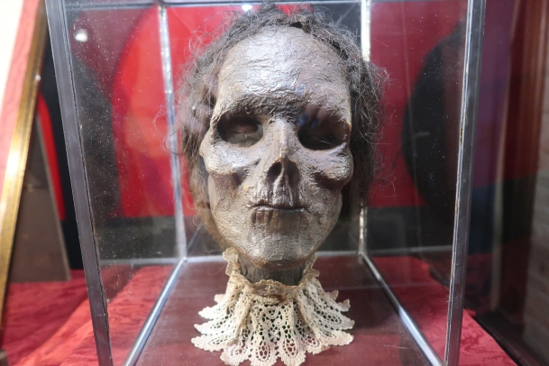 head of a witch