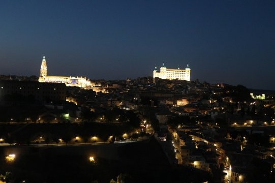 Toledo by night