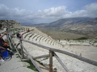 theatre Segesta view