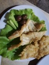 Deep fried Bacalhau