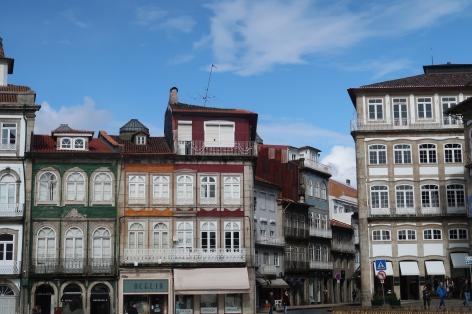 town square Guimaraes